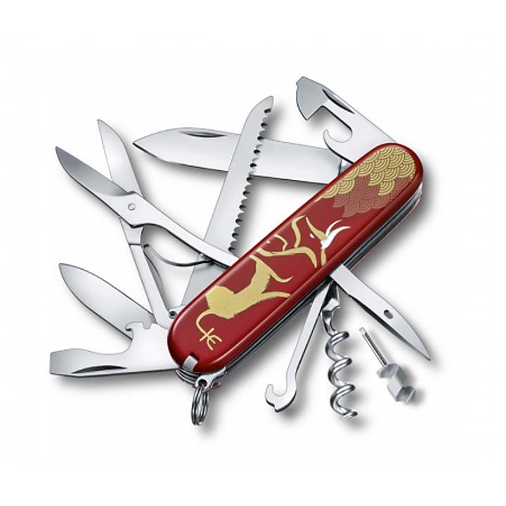 NÔŽ VICTORINOX Huntsman Year of the Ox 2021